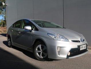 2013 Toyota Prius ZVW30R MY12 Silver 1 Speed Constant Variable Liftback Hybrid.