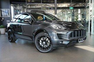 2016 Porsche Macan 95B MY17 S PDK AWD Diesel Grey 7 Speed Sports Automatic Dual Clutch Wagon.
