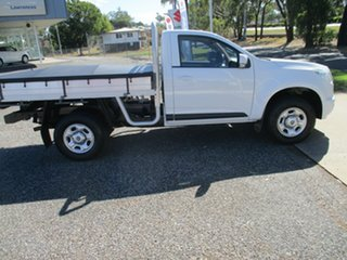 2013 Holden Colorado RG MY13 LX 4x2 White 5 Speed Manual Cab Chassis.