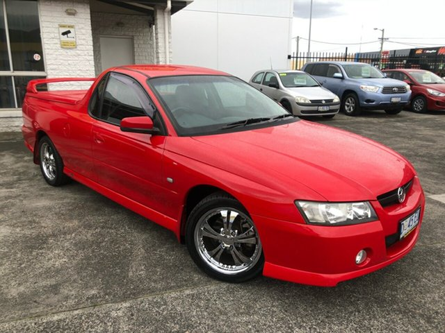 Used Holden Ute VZ MY06 Glenorchy, 2006 Holden Ute VZ MY06 Red Hot 4 Speed Automatic Utility
