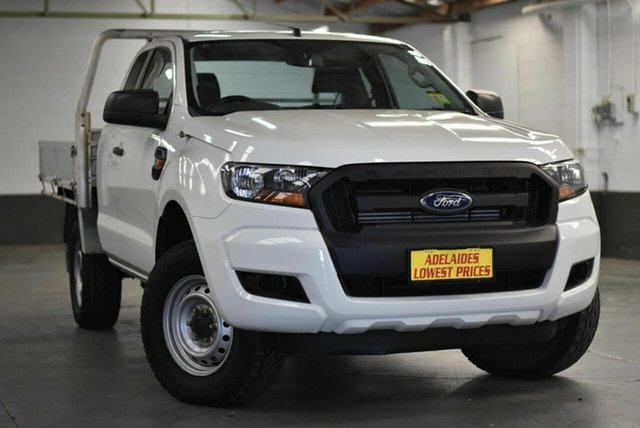Used Ford Ranger PX MkII XL Cheltenham, 2016 Ford Ranger PX MkII XL White 6 Speed Manual Utility