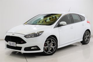 2015 Ford Focus LZ ST White 6 Speed Manual Hatchback.