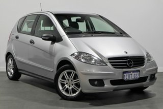 2007 Mercedes-Benz A-Class W169 MY07 A170 Classic Silver 7 Speed Constant Variable Hatchback.