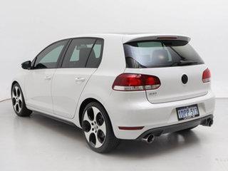 2011 Volkswagen Golf 1K MY11 GTi White 6 Speed Direct Shift Hatchback