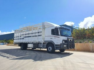 2011 Mercedes-Benz 1629 Atego 1629 Atego Truck White Stock/Cattle crate.