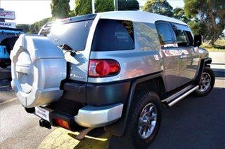 2012 Toyota FJ Cruiser GSJ15R Silver 5 Speed Automatic Wagon.