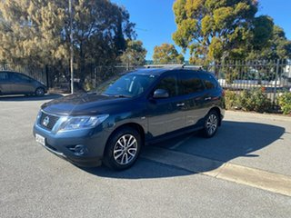 2015 Nissan Pathfinder R52 MY15 ST X-tronic 4WD Blue 1 Speed Constant Variable Wagon.