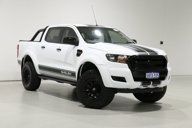 Used Ford Ranger PX MkII MY18 XL 3.2 (4x4) Bentley, 2018 Ford Ranger PX MkII MY18 XL 3.2 (4x4) White 6 Speed Automatic Crew Cab Utility