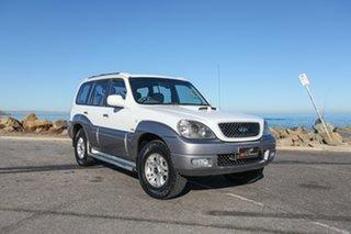 2005 Hyundai Terracan HP MY05 Highlander White 4 Speed Automatic Wagon.