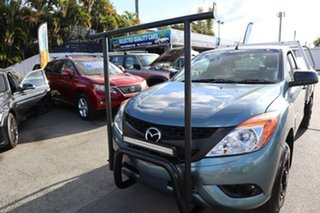 2012 Mazda BT-50 UP0YD1 XT 4x2 Blue 6 Speed Manual Cab Chassis
