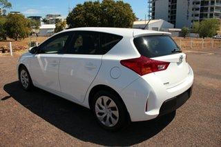 2015 Toyota Corolla ZRE182R Ascent S-CVT Glacier White 7 Speed 1 SP AUTOMATIC Hatchback