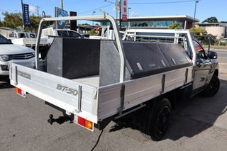2012 Mazda BT-50 UP0YD1 XT 4x2 Blue 6 Speed Manual Cab Chassis.