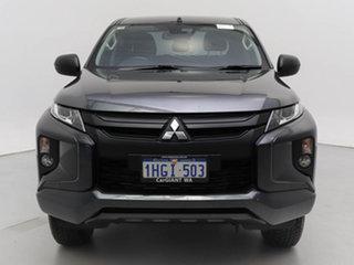 2019 Mitsubishi Triton MR MY19 GLX Plus (4x4) Grey 6 Speed Automatic Double Cab Pick Up.