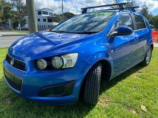 2013 Holden Barina TM MY13 CD Blue 5 Speed Manual Hatchback.