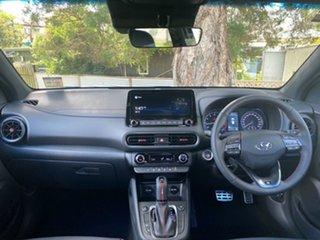 2021 Hyundai Kona Os.v4 MY21 N-Line D-CT AWD Phantom Black 7 Speed Sports Automatic Dual Clutch