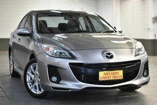 2012 Mazda 3 BL10L2 SP25 Silver 6 Speed Manual Sedan.