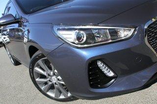 2017 Hyundai i30 PD MY18 Elite D-CT Stargazing Blue 7 Speed Sports Automatic Dual Clutch Hatchback.