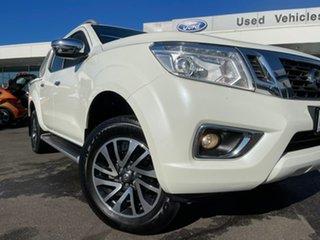 2015 Nissan Navara D23 ST-X White 7 Speed Sports Automatic Utility.
