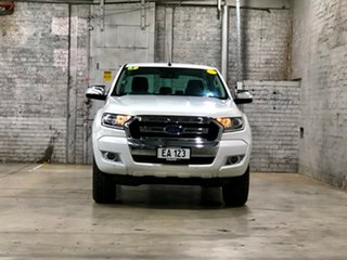 2016 Ford Ranger PX MkII XLT Double Cab 4x2 Hi-Rider White 6 Speed Sports Automatic Utility.
