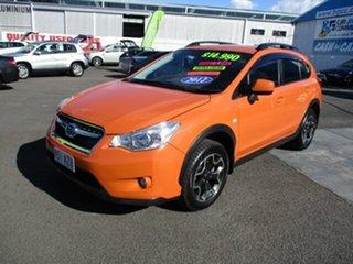 2012 Subaru XV Orange 5 Speed Manual Wagon.