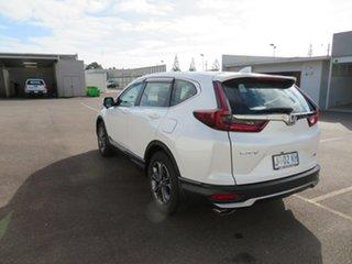 2020 Honda CR-V RW MY21 VTi FWD X Platinum White 1 Speed Constant Variable Wagon.