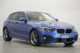 2016 BMW 1 Series F20 LCI 125i M Sport Blue 8 Speed Sports Automatic Hatchback