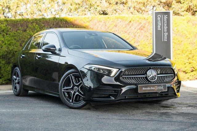 Certified Pre-Owned Mercedes-Benz A-Class W177 A250 DCT 4MATIC AMG Line Berwick, 2019 Mercedes-Benz A-Class W177 A250 DCT 4MATIC AMG Line Cosmos Black 7 Speed