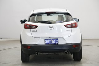 2018 Mazda CX-3 DK2W7A sTouring SKYACTIV-Drive White 6 Speed Sports Automatic Wagon