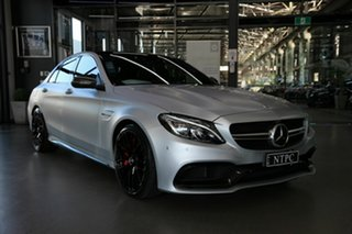 2017 Mercedes-Benz C-Class W205 808MY C63 AMG SPEEDSHIFT MCT S Silver 7 Speed Sports Automatic Sedan