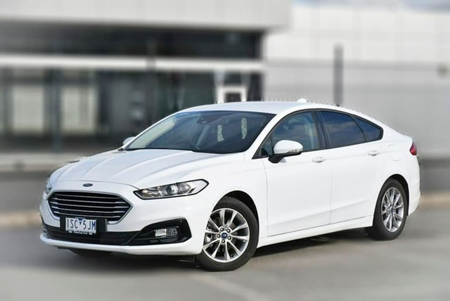 Used Ford Mondeo MD 2019.5MY Ambiente Pakenham, 2019 Ford Mondeo MD 2019.5MY Ambiente White 6 Speed Sports Automatic Dual Clutch Hatchback