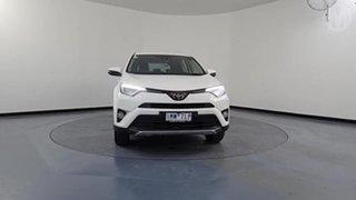 2018 Toyota RAV4 ZSA42R MY18 GX (2WD) Glacier White Continuous Variable Wagon.
