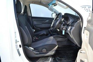 2018 Mitsubishi Triton MQ MY17 GLX White 5 Speed Manual Cab Chassis