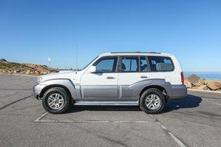 2005 Hyundai Terracan HP MY05 Highlander White 4 Speed Automatic Wagon