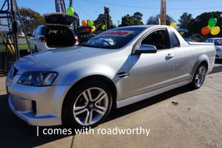 2010 Holden Ute VE MY10 SV6 Nitrate Silver 6 Speed Sports Automatic Utility.