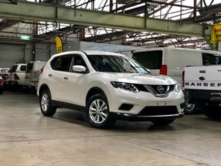 2015 Nissan X-Trail T32 ST X-tronic 2WD White 7 Speed Constant Variable Wagon.