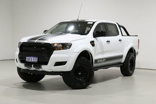 2018 Ford Ranger PX MkII MY18 XL 3.2 (4x4) White 6 Speed Automatic Crew Cab Utility.