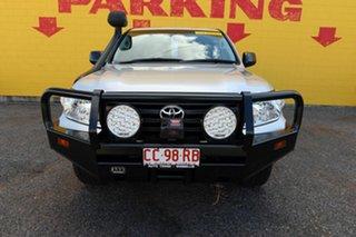 2015 Toyota Landcruiser VDJ200R MY13 GX Silver 6 Speed Sports Automatic Wagon.