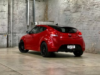 2015 Hyundai Veloster FS4 Series II + Coupe D-CT Red 6 Speed Sports Automatic Dual Clutch Hatchback