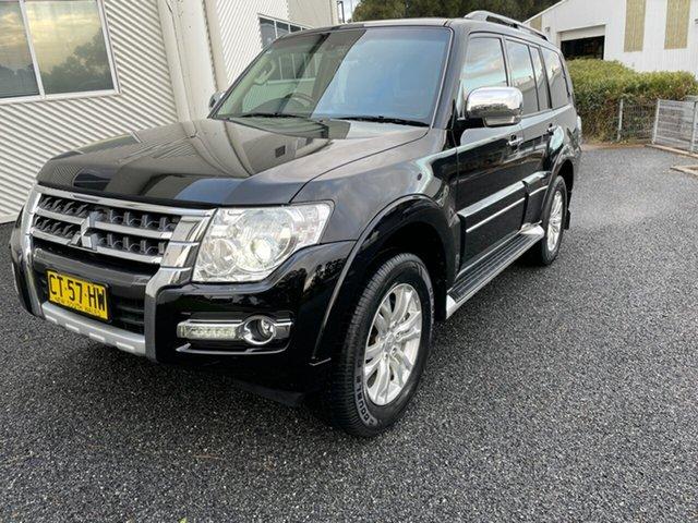 Used Mitsubishi Pajero NX MY19 Exceed Maitland, 2019 Mitsubishi Pajero NX MY19 Exceed Black 5 Speed Sports Automatic Wagon