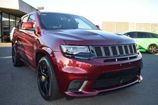 2018 Jeep Grand Cherokee WK MY18 Trackhawk Maroon 8 Speed Sports Automatic Wagon.