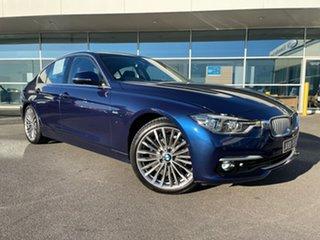 2018 BMW 3 Series F30 LCI 320i Sport Line Black 8 Speed Sports Automatic Sedan.
