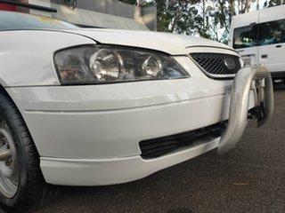 2003 Ford Falcon BA SE Ute Super Cab XL White 4 Speed Sports Automatic Utility