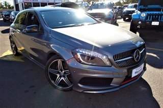 2014 Mercedes-Benz A-Class W176 A250 D-CT Sport Silver 7 Speed Sports Automatic Dual Clutch.