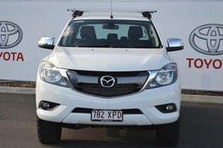 2017 Mazda BT-50 MY16 GT (4x4) White 6 Speed Automatic Dual Cab Utility.