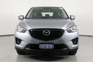 2013 Mazda CX-5 Maxx Sport (4x4) Silver 6 Speed Automatic Wagon.