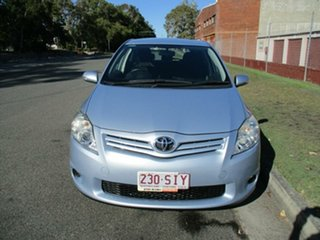 2011 Toyota Corolla ZRE152R MY11 Ascent Blue 6 Speed Manual Hatchback.