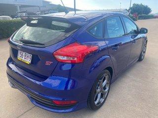 2017 Ford Focus LZ ST Blue/100817 6 Speed Manual Hatchback.