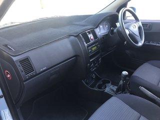 2010 Hyundai Getz TB MY09 SX Blue 5 Speed Manual Hatchback