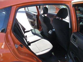 2012 Subaru XV Orange 5 Speed Manual Wagon