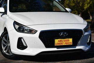 2017 Hyundai i30 PD MY18 Active D-CT White 7 Speed Sports Automatic Dual Clutch Hatchback